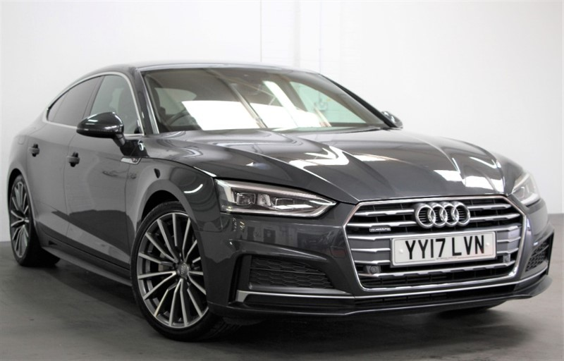 used Audi A5 T FSi Quattro S Line [252] (FREE MAINLAND UK DELIVERY !!) in west-byfleet-surrey