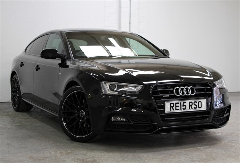 used Audi A5 Tdi Quattro Black Edition Plus [245] (HUGE SPEC !!) in west-byfleet-surrey