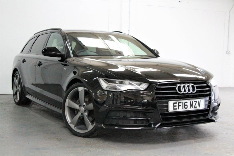 used Audi A6 Avant Tdi Ultra Black Edition [190] (SAT NAV+ !! GREAT SPEC !!) in west-byfleet-surrey