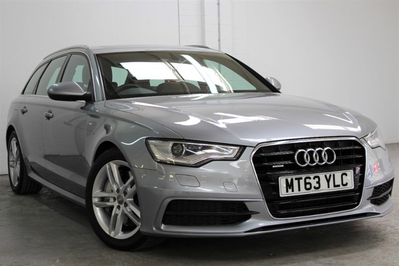 used Audi A6 Avant BiTDi Quattro S Line [313] (PAN ROOF !! BIG SPEC !!) in west-byfleet-surrey