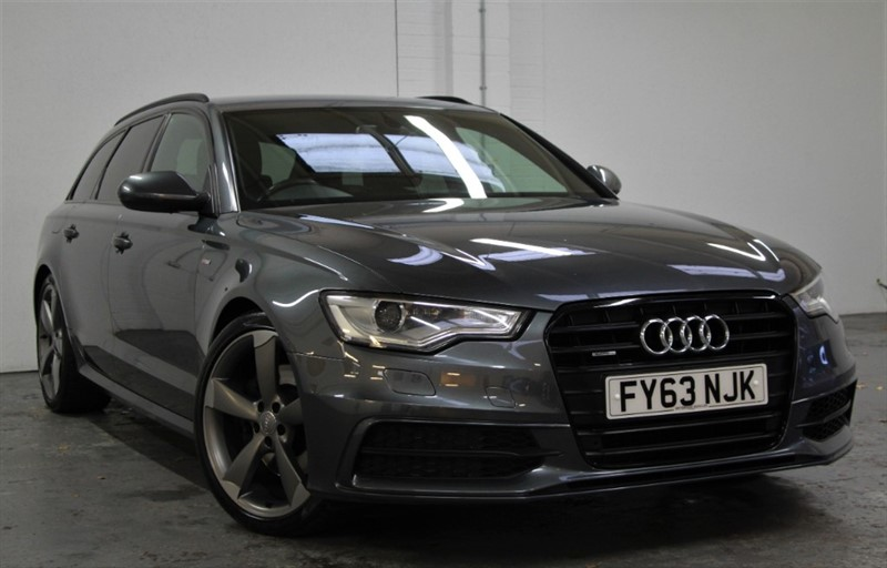 used Audi A6 Avant Tdi Quattro Black Edition [245] (HDD SAT NAV+ !! GREAT SPEC !!) in west-byfleet-surrey