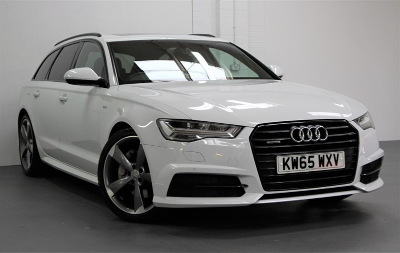 used Audi A6 Avant Tdi Quattro Black Edition [272] (PAN ROOF, TECH PACK, GREAT SPEC !!) in west-byfleet-surrey