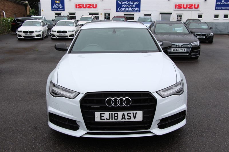 used Audi A6 Avant T FSi Quattro Black Edition [252] (FREE MAINLAND UK DELIVERY !!) in west-byfleet-surrey