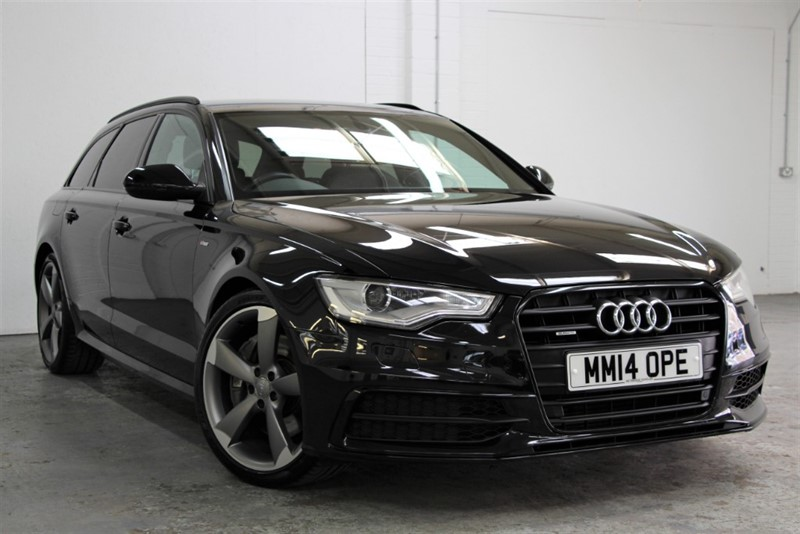 used Audi A6 Avant BiTDi Quattro Black Edition [313] (TECH PACK !! HUGE SPEC !!)) in west-byfleet-surrey