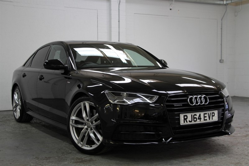 used Audi A6 BiTDi Quattro Black Edition [320] (HUGE SPEC !! 320 BHP FACELIFT !!) in west-byfleet-surrey