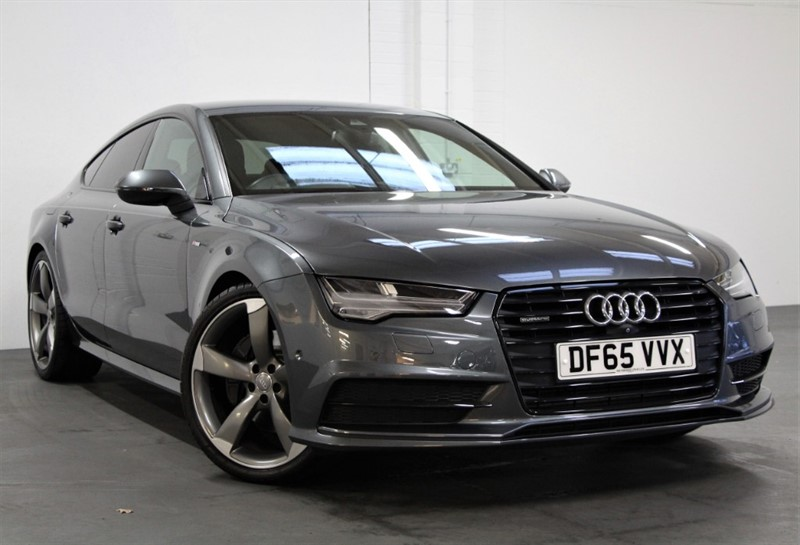 used Audi A7 BiTDi Quattro Black Edition [320] (FREE MAINLAND UK DELIVERY !!) in west-byfleet-surrey