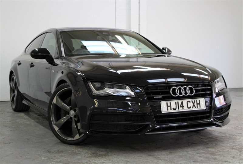 used Audi A7 T FSi Quattro Black Edition [306] (EXTREMELY RARE PETROL !!) in west-byfleet-surrey