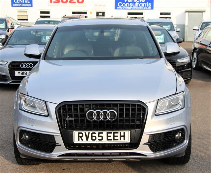 used Audi Q5 Tdi Quattro S Line Plus [258] (PAN ROOF, RARE 3.0 TDI, EURO6 !!) in west-byfleet-surrey