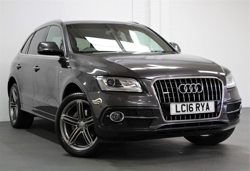 used Audi Q5 Tdi Quattro S Line Plus [190] (PAN ROOF !! BIG SPEC !! EURO6 !!) in west-byfleet-surrey