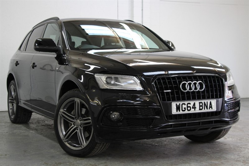 used Audi Q5 Tdi Quattro S Line Plus [177] (BLACK OPTICS !! BIG SPEC !!) in west-byfleet-surrey