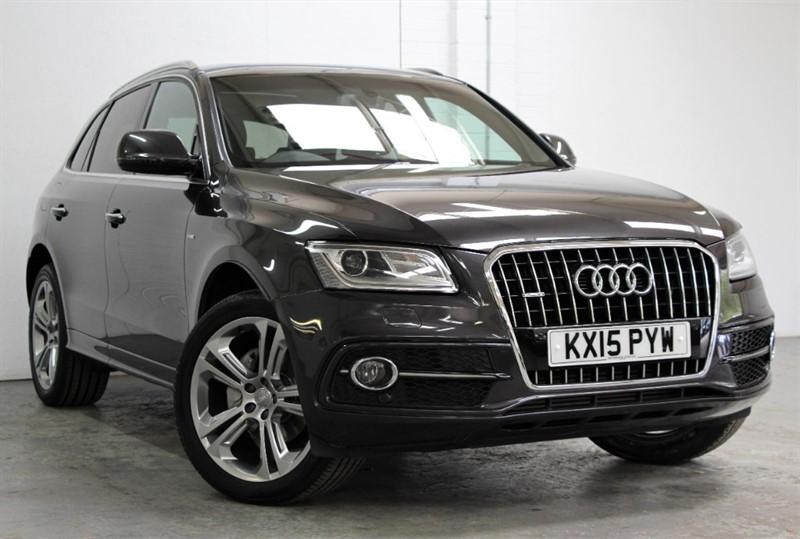 used Audi Q5 Tdi Quattro S Line Plus [177] (PAN ROOF !! BIG SPEC !!) in west-byfleet-surrey