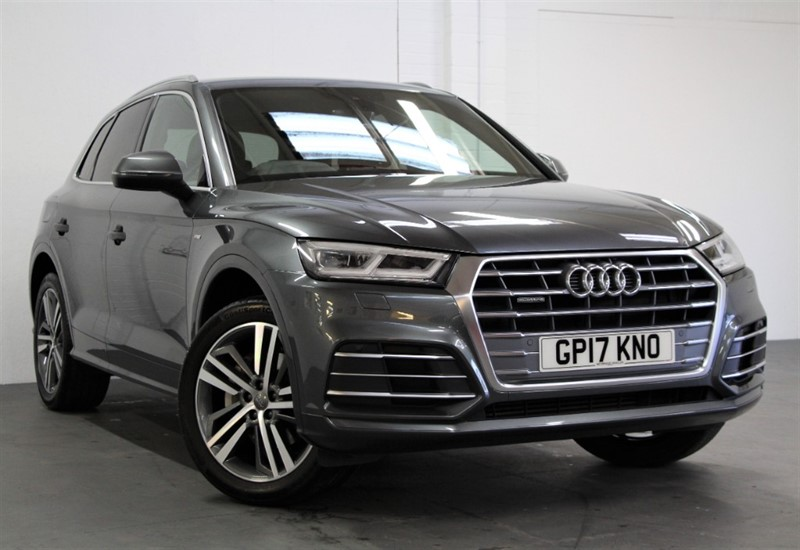used Audi Q5 T FSi Quattro S Line [252] (FREE MAINLAND UK DELIVERY !!) in west-byfleet-surrey