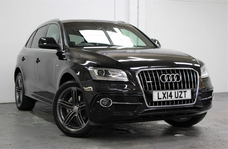 used Audi Q5 Tdi Quattro S Line Plus [177] (PAN ROOF !! 19000 MILES !!) in west-byfleet-surrey