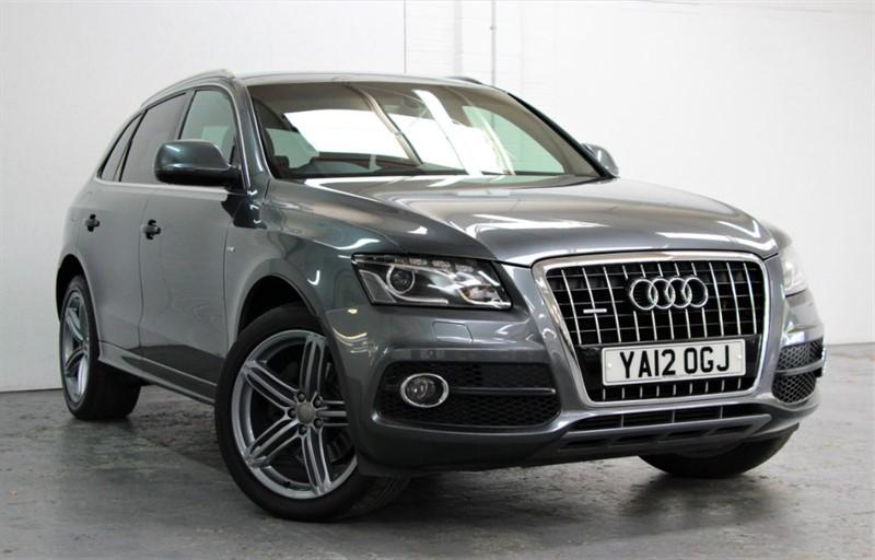 used Audi Q5 Tdi Quattro S Line Plus [245] (GREAT SPEC !! LOVELY CAR !!) in west-byfleet-surrey