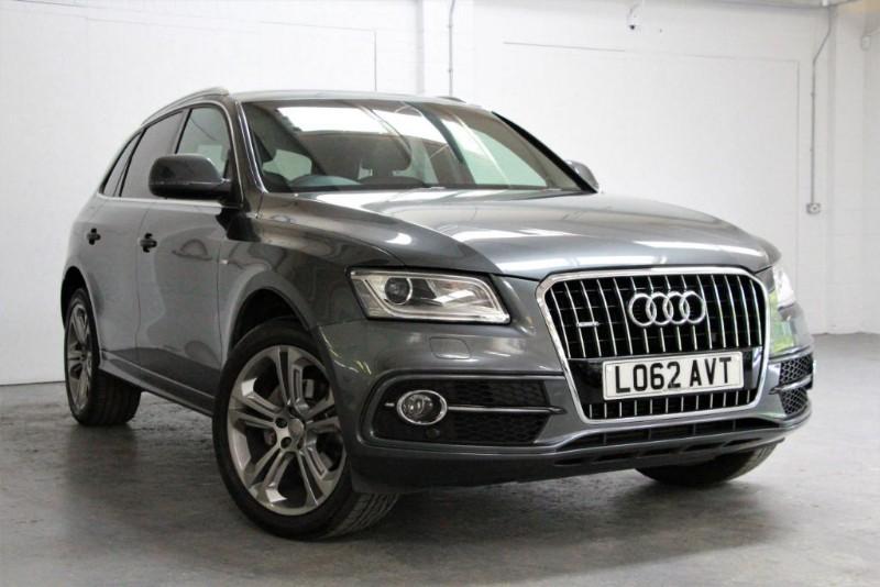 used Audi Q5 Tdi Quattro S Line Plus [177] (HDD ADVANCED 3G SAT NAV+ !!) in west-byfleet-surrey