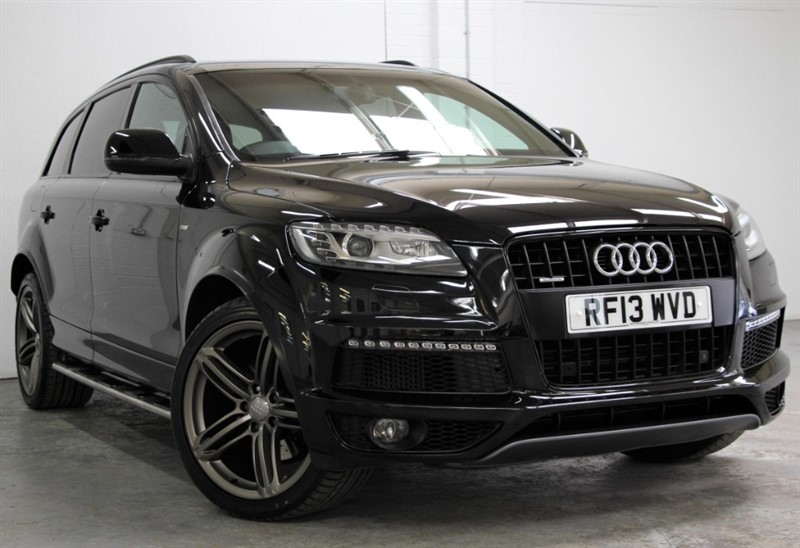 used Audi Q7 Tdi Quattro S Line Plus [245] (PAN ROOF !! HUGE SPEC !!) in west-byfleet-surrey