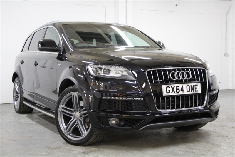 used Audi Q7 Tdi Quattro S Line Plus [245] (PAN ROOF !! BIG SPEC !!) in west-byfleet-surrey