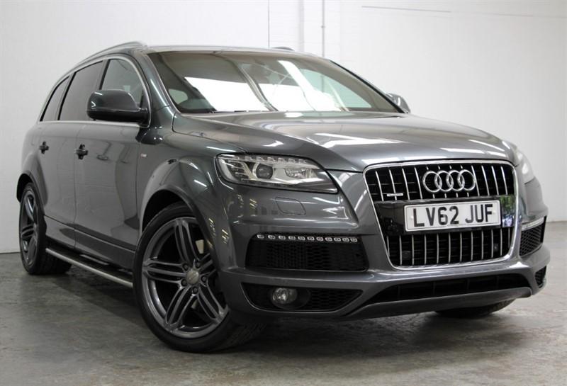 used Audi Q7 Tdi Quattro S Line Plus [245] (PAN ROOF !! HUGE SPEC !!) in west-byfleet-surrey