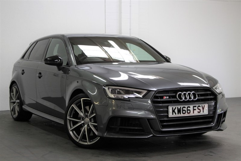used Audi S3 T FSi Quattro Black Edition [310] (FREE MAINLAND UK DELIVERY !!) in west-byfleet-surrey
