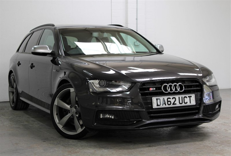 used Audi S4 Avant T FSi Quattro Black Edition [333] (PAN ROOF !! HUGE SPEC !!) in west-byfleet-surrey