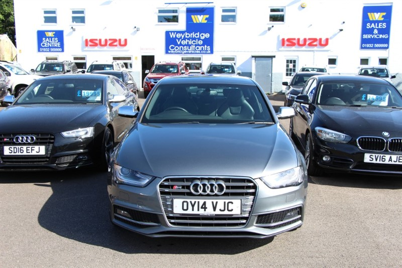 used Audi S4 T FSi Quattro [333] (FREE MAINLAND UK DELIVERY !!) in west-byfleet-surrey