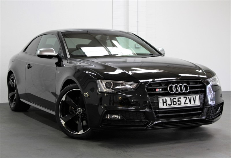used Audi S5 T FSi Quattro Black Edition [333] (JUST 10750 MILES FROM NEW !!) in west-byfleet-surrey