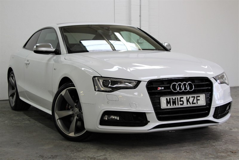 used Audi S5 T FSi Quattro Black Edition [333] (PAN ROOF !! HUGE SPEC !!) in west-byfleet-surrey