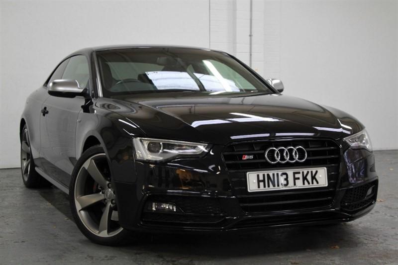 used Audi S5 T FSi Quattro Black Edition [333] (HDD SAT NAV+ !! BIG SPEC !!) in west-byfleet-surrey
