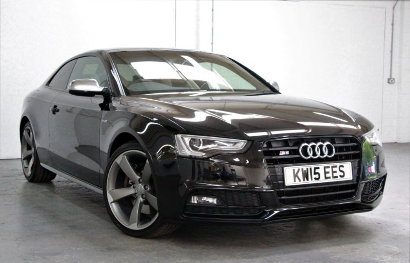 used Audi S5 T FSi Quattro Black Edition [333] (HUGE SPEC !! STUNNING CAR !!) in west-byfleet-surrey