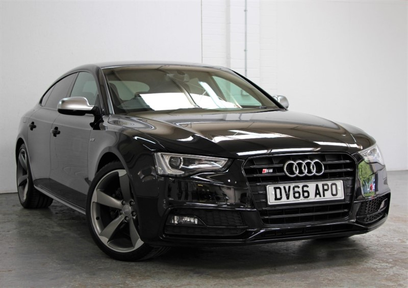 used Audi S5 T FSi Quattro Black Edition [333] (HUGE SPECIFICATION !!) in west-byfleet-surrey