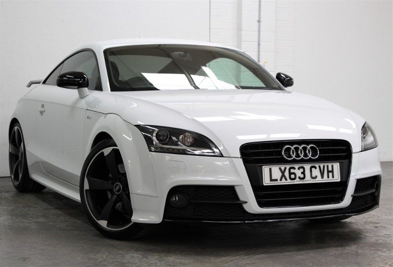 used Audi TT T FSi Amplified Black Edition [211] (1 PRIVATE OWNER, 11300 MILES !!) in west-byfleet-surrey