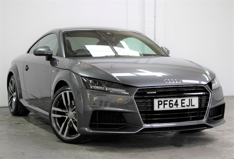 used Audi TT T FSi Quattro S Line [230] (SAT NAV, TECH PACK, VIRTUAL COCKPIT !!) in west-byfleet-surrey