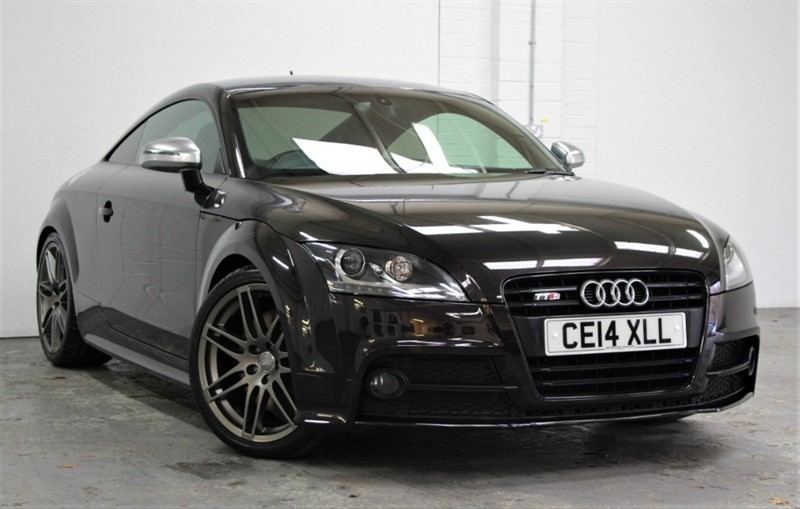 used Audi TTS T FSi Quattro Black Edition [270] (BEST YOU WILL SEE !!) in west-byfleet-surrey