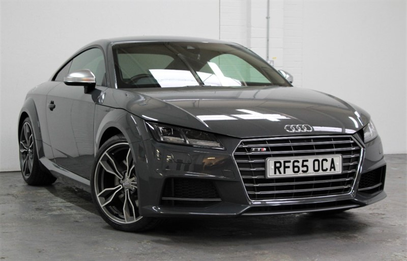 used Audi TTS T FSi Quattro [310] (SAT NAV+ !! TECH PACK !!) in west-byfleet-surrey