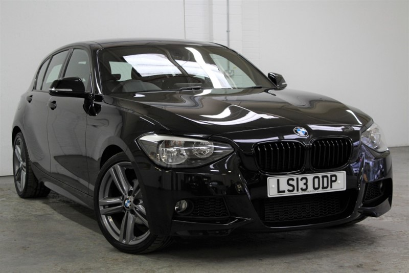 used BMW 118d M Sport [140] (PRO NAV !! KNOCK OUT CAR !!) in west-byfleet-surrey