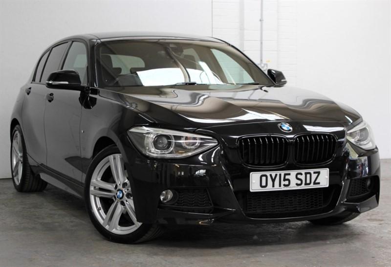 used BMW 120d M Sport [184] (PRO NAV !! BLACK DAKOTA LEATHER !!) in west-byfleet-surrey