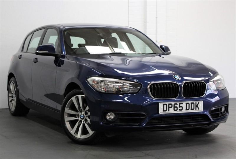used BMW 120d XDrive Sport [190] (SAT NAV, BLACK LEATHER !!) in west-byfleet-surrey