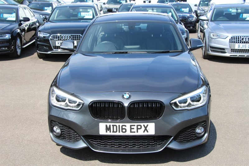 used BMW 120d M Sport [190] (SAT NAV !! JUST 12000 MILES !!) in west-byfleet-surrey