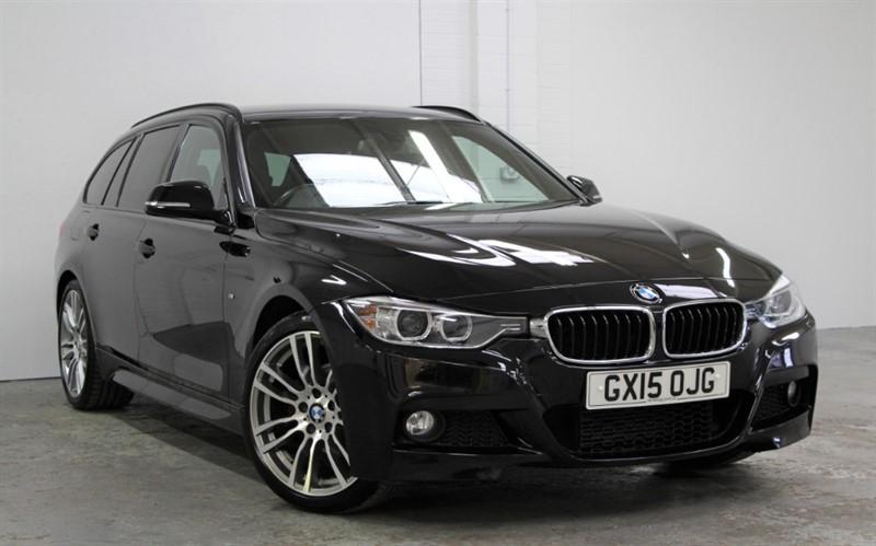 used BMW 320d M Sport Plus [184] (PRO NAV !! BLACK DAKOTA LEATHER !!) in west-byfleet-surrey