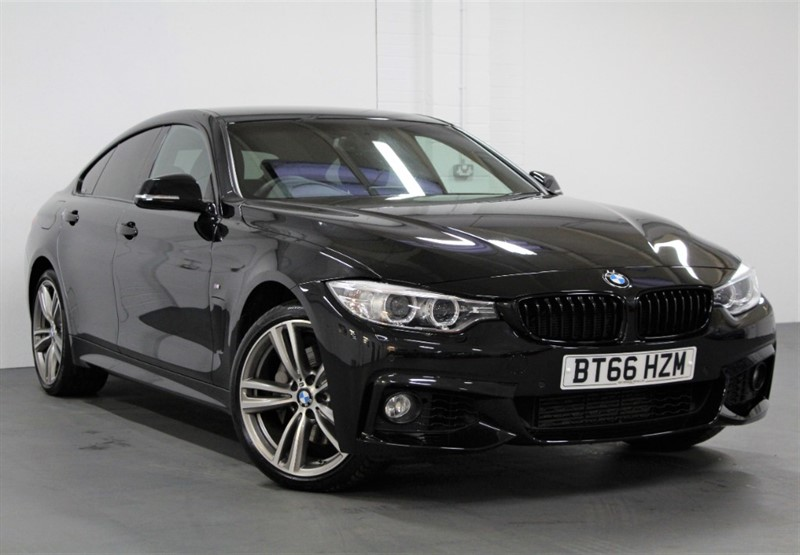 used BMW 435d XDrive Gran Coupe M Sport [313] (PRO NAV !! BIG SPEC !!) in west-byfleet-surrey