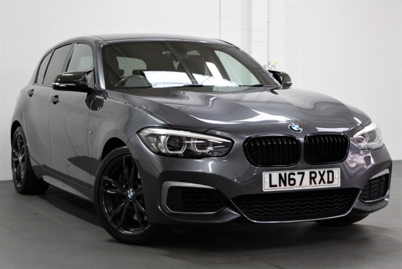 used BMW M140i Shadow Edition [340] (PRO NAV, FULL BLACK LEATHER !!) in west-byfleet-surrey