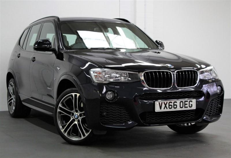 used BMW X3 XDrive 20D M Sport  [190] (PRO NAV !! 20