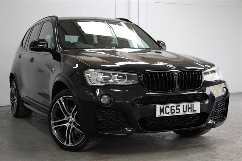 used BMW X3 XDrive 30D M Sport Plus [260] (PRO NAV !! HUGE SPEC !!) in west-byfleet-surrey
