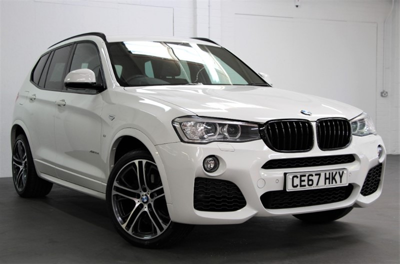 used BMW X3 XDrive 35D M Sport Plus [313] (FREE MAINLAND UK DELIVERY !!) in west-byfleet-surrey