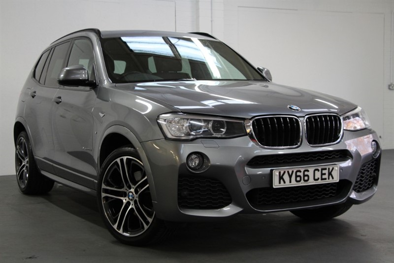 used BMW X3 XDrive 20D M Sport Plus [190] (PAN ROOF !! PRO NAV !! BIG SPEC !!) in west-byfleet-surrey