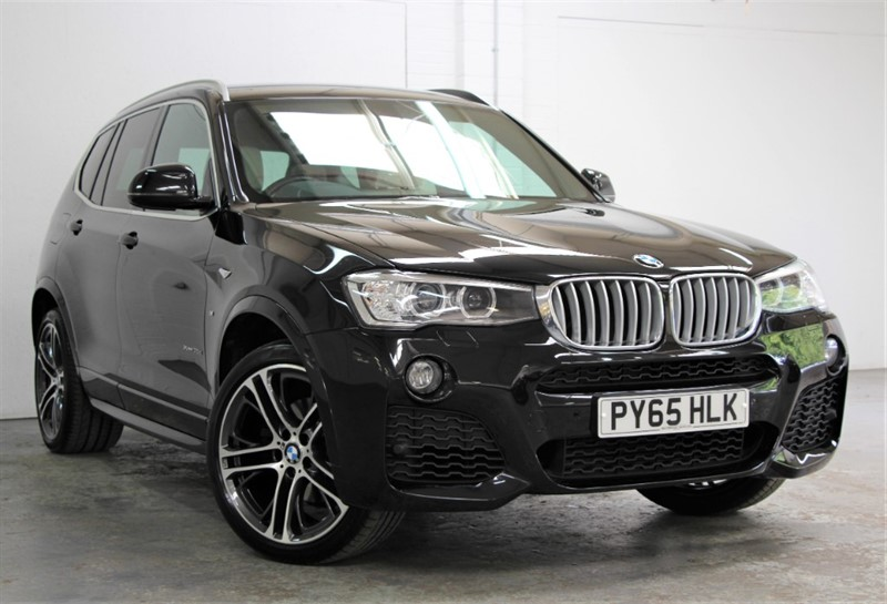 used BMW X3 XDrive 35D M Sport Plus [313] (PRO NAV !! HUGE SPEC !!) in west-byfleet-surrey