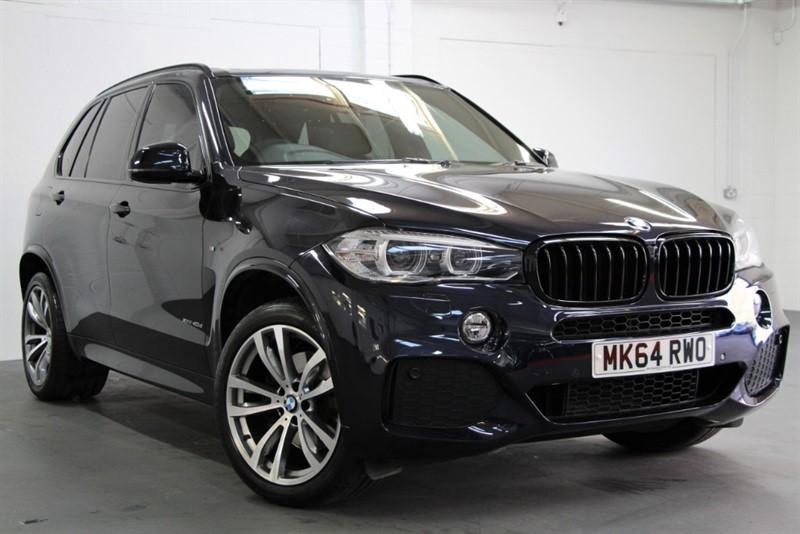 used BMW X5 XDrive 40D M-Sport [313] (7 SEATS, PAN ROOF, BIG SPEC !!) in west-byfleet-surrey