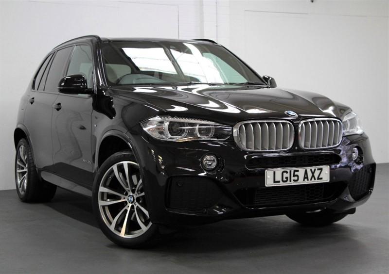used BMW X5 XDrive 40D M-Sport [313] (7 SEATS, ENORMOUS SPEC !!) in west-byfleet-surrey