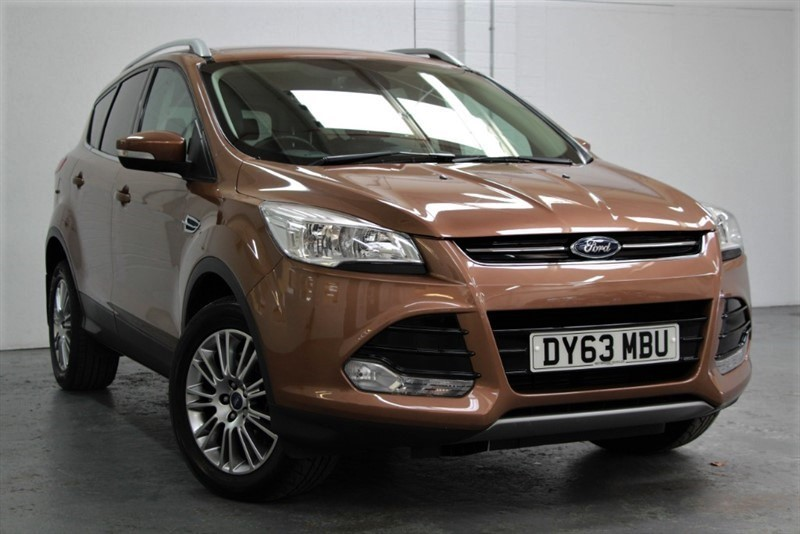 used Ford Kuga TITANIUM TDCI AWD [163] (A STUNNING EXAMPLE !!) in west-byfleet-surrey
