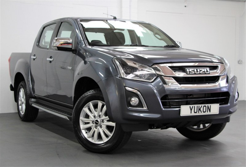 used Isuzu D-Max PRE REG - Yukon Nav+ Double Cab [162] (FREE MAINLAND UK DELIVERY !!) in west-byfleet-surrey